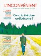 Où va la littérature québécoise ?